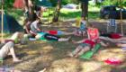 Отдых в палатках на днепре