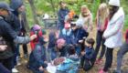 Семейный отдых палаточный лагерь на днепре