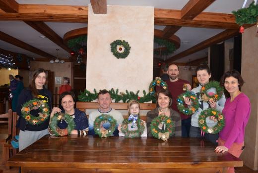 Совмесное творчество родителей и детей зима 2017