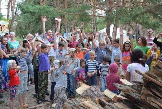 Летние каникулы в лагере КАНИКУЛЫ ДУШИ
