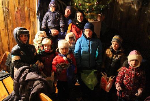 Новогодние праздники в кругу родных зима 2016