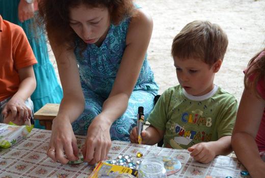 Мастер-классы для детей и родителей на природе