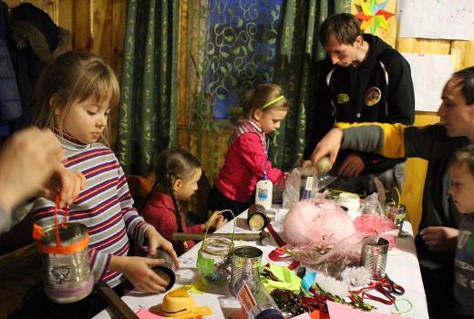 Праздники в кругу друзей и семьи в лагере Каникулы Души
