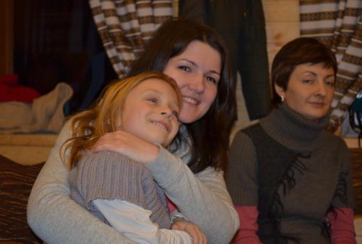 Настоящий рождественский праздник в лагере Каникулы Души