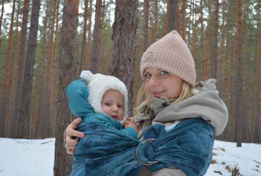 Зимний семейный отдых с детьми