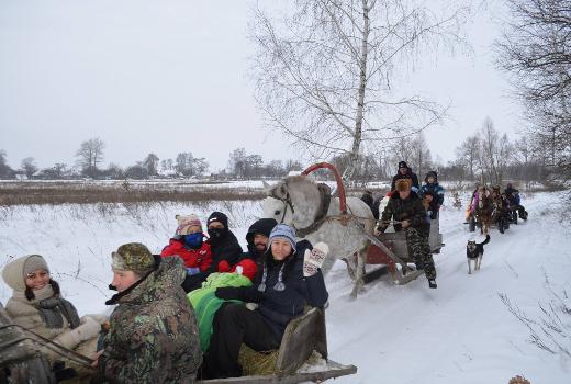 Зимние каникулы для всей семь с программой для детей