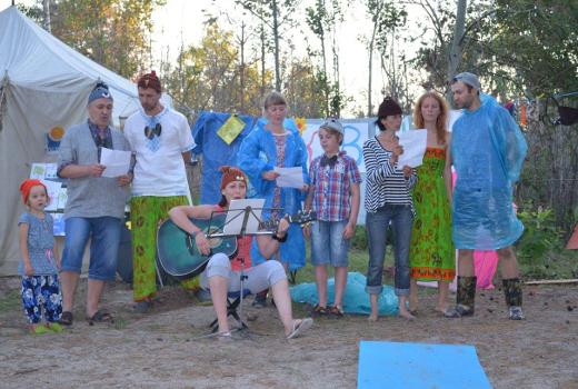 Лагерь на природе по всей Украине для всей семьи