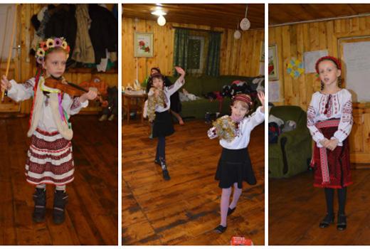 Детские праздники и отдых в лагере зимой
