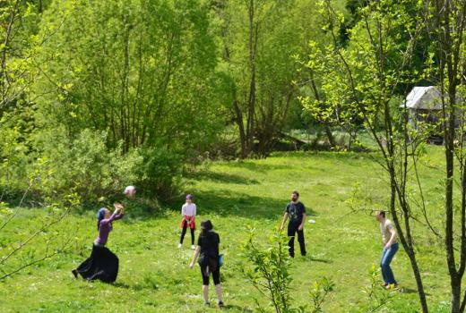 Игры на природе , весенний лагерь для всей семьи, Каникулы Души
